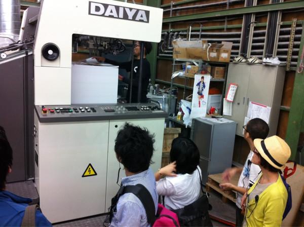 シナノ印刷工場見学