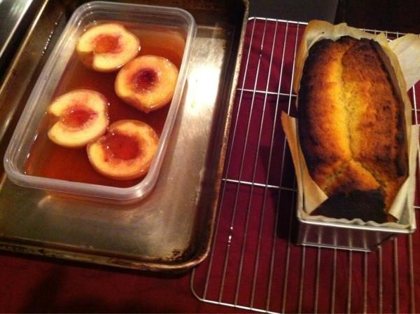 オルガニークのケーキ